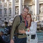 Derrick & Kendra Perrin in Rome, Italy