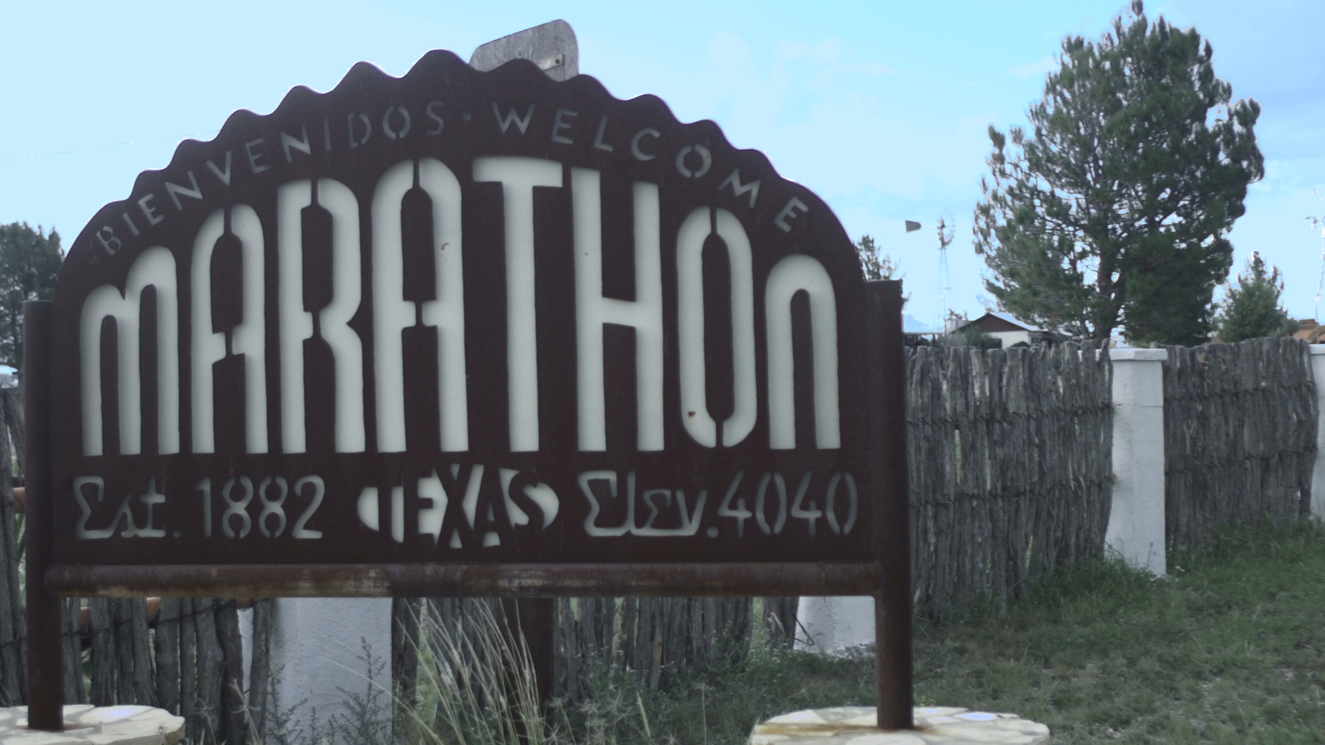 Marathon, Texas Sign