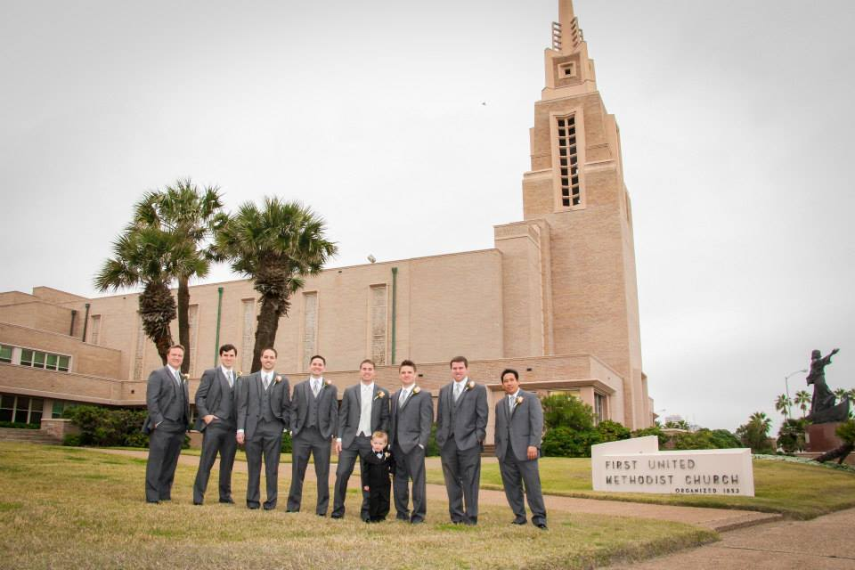 First United Methodist Church - Grooms Men Photo