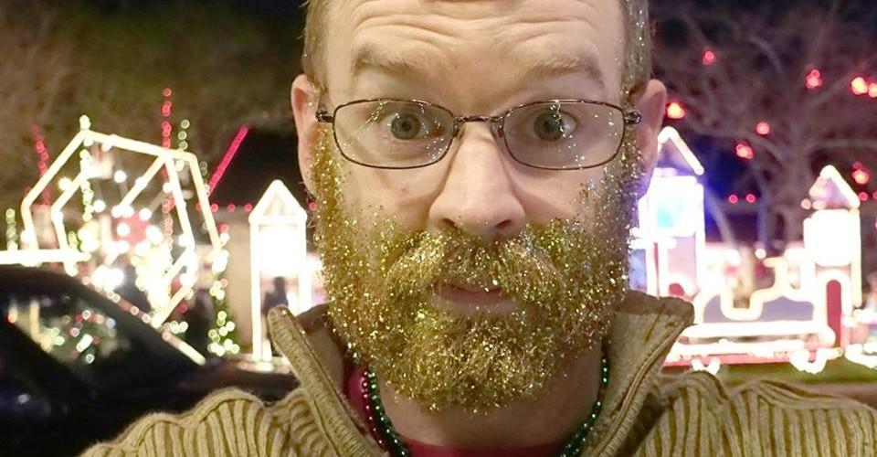 Derrick Perrin in Glitter Beard